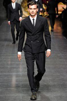 Dolce & Gabbana's suit.