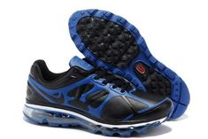 bf96e7bed54a Buy Wholesale Air Max 2012 Mens Shoes Leather Blue Black In Big Discount  from Reliable Wholesale Air Max 2012 Mens Shoes Leather Blue Black In Big  Discount ...