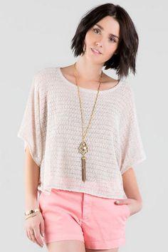 Julina Knit Crop Top