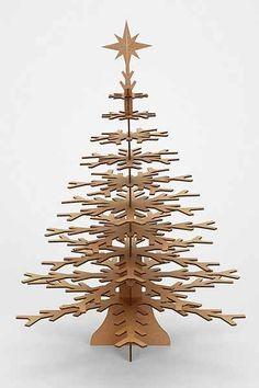 Cardboard Safari Snowflake Tree - Urban Outfitters