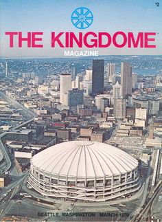The Kingdome was the home of the Mariners and the Seahawks.