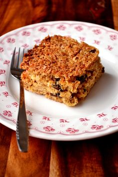 Coconut and Prune Flapjacks - soft, chewy and indulgent flapjacks ...