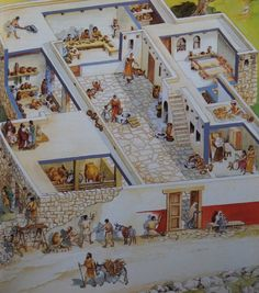 What were typical homes like in Jesus' time?
