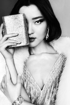 Du Juan by Mario Testino for Vogue China, September 2015.