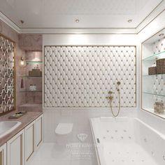 Дизайн санузла спальни. Квартира в ЖК «Сколково Парк»  http://www.line-mg.ru/dizayn-kvartiry-zhiloy-kompleks-skolkovo-park