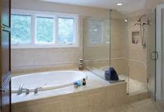 soaker tub shower combo - Yahoo Image Search Results