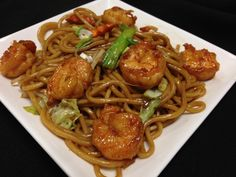 Shrimp Chow Mein: Try our delicious versions of these dishes at Sacramento, CA's Hing's Chinese Restaurant: http://hingsmadison.com/