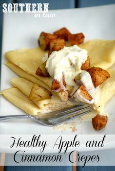 Crepes that are gluten free, low fat, and sugar free? We'll be making this in no time @southerninlaw :D