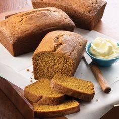 Golden Pumpkin Bread