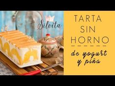 Una receta sencilla en solo Tarta fría de Piña y Yogurt de Megasilvita Low Carb Recipes, Cooking Recipes, Coconut Cream, Flan, Diy Food, Cheesecakes, Sweet Recipes, Bakery, Deserts