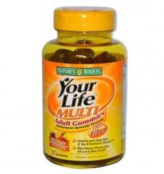 Nature's Bounty Your Life Multi Adult Gummies - 75 Gummies - Immunity Enhancer - Health Nutrition - Health & Fitness