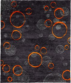 Hyrrokin B Hand Knotted Tibetan Rug from the Tibetan Rugs 1 collection at Modern Area Rugs