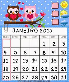Professora Marcia Valeria: Calendário 2015