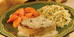 2-step garlic pork chops