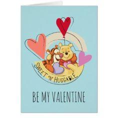 Winnie the Pooh & Tigger   Sweet 'N' Huggable Card