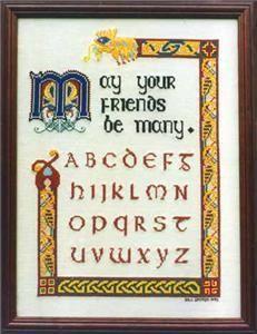 Free Cross Stitch Sampler Patterns | Celtic Sampler Alphabet Cross Stitch Pattern Chart | eBay