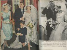 Alfred Angelo vintage designer fashion bride ad from 1958