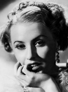 Barbara Stanwyck en foto promocional para 'Stella Dallas',  dirigida por King Vidor en 1937