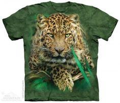 Majestic Leopard - The Mountain - Koszulka z gepardem - www.veoveo.pl