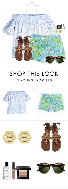 """Can't wait to go shopping in Winter Park:)"" by flroasburn on Polyvore featuring Sea, New York, Tory Burch, Bobbi Brown Cosmetics and Kendra Scott"