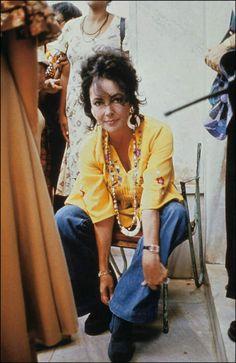 Elizabeth Taylor, 1970s.