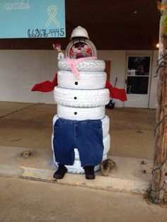 1000 images about projects to try on pinterest spark for Snowmen made from tires