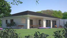Bungalows, Modern House Design, Sweet Home, Floor Plans, Construction, Windows, Architecture, Outdoor Decor, Important