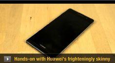 Huawei Ascend P6: Nuevo smartphone de Huawei, super delgado - Negocios Inversiones Noticias de Tecnología