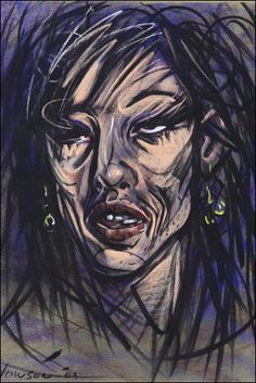 Peter Howson Amy Winehouse