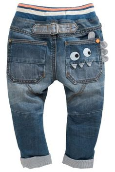 e8e3e329305 Buy Monster Rib Waist Jean (3mths-6yrs) online today at Next  United