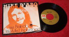 "MIKE D'ABO - Belinda + Little Miss Understood - Vinyl 7""Single - A&M Records - MANFRED MANN"
