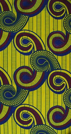 african print ~ beauty pattern ~