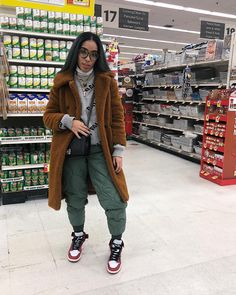 """""""supermarket wit it"""" Cute Swag Outfits, Chill Outfits, Dope Outfits, Outfits For Teens, Casual Outfits, Fall Winter Outfits, Autumn Winter Fashion, Fashion Killa, Everyday Outfits"""
