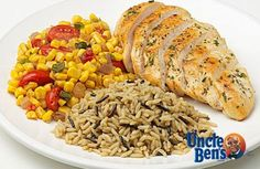 Chicken with Southwest Corn and Brown