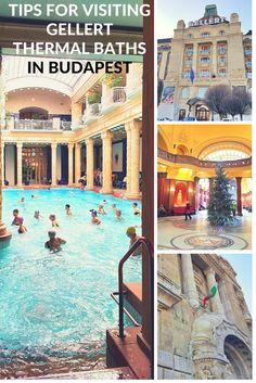 Tips for visiting Gellert Baths in Budapest