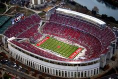 Columbus, Ohio - Ohio Stadium The Horseshoe (Ohio State Buckeyes!) stadiums-i-ve-been-to Ohio State Buckeyes, Ohio State Vs Maryland, Ohio State Stadium, Ohio State University Campus, Buckeyes Football, Football Stadiums, Oklahoma Sooners, Alabama Football, American Football