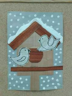 Resultat d'imatges de winter themed art for adults Winter Art Projects, Winter Crafts For Kids, Winter Kids, Art For Kids, Kindergarten Art, Preschool Art, Christmas Art, Winter Christmas, Winter Thema