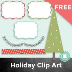 Christmas Clip Art: Holiday Clipart