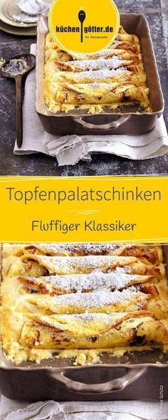 Fluffiger Klassiker: Topfenpalatschinken