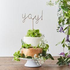 Yay Wedding Cake Top