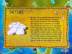 Try how salty the Salt Lake is!  5 teaspoons of salt pour with a cup of warm water. Then mix and taste it. That's it!