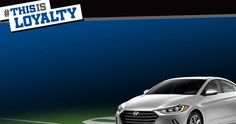 Win a 2017 Hyundai Elantra on Hyundai - This Is Loyalty Sweepstakes