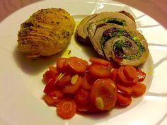 Ingredienti: 1 filetto di maiale 100 gr spinaci 60 gr mirtilli rossi secchi 20…