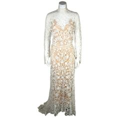Edwardian Tape Lace & Irish Crochet Wedding Gown #antique #vintage #downtonabbey (via @1stdibs)