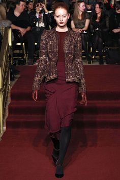 Zac Posen Fall 2013 Ready-to-Wear Fashion Show Collection