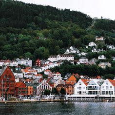 Bergen Norway's Second City and the Gateway to the Fjords. Photo by @hellomynameisink on Instagram.