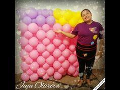 Como fazer Mural de Balões. - YouTube