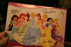 write to a disney princess and get a signed postcard back  *This is the address for the postcard  Walt Disney World Communications  P.O. Box 10040  Lake Buena Vista, FL 32830-0040    And the address for a 8X10 picture is this:  Walt Disney Company  Attn: Fan Mail Department  500 South Buena Vista Street  Burbank, CA 91521