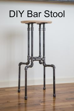 Pin now, make later! DIY Bar stool More