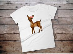 Excited to share the latest addition to my #etsy shop: Deer shirt, deer shirt for women, deer women shirt,  deer tshirt, deer tshirt women, deer gift, boho deer, boho shirts, boho gift ideas,